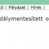 Akadálymentesítés II.